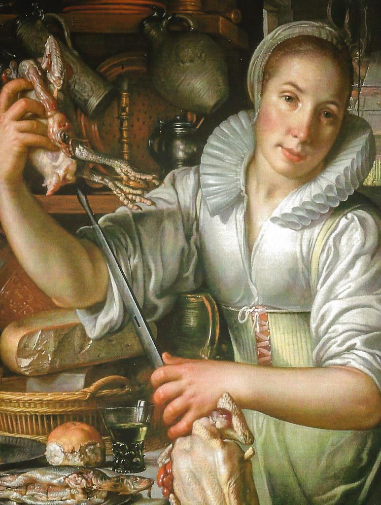 Joachim Anthonisz Wtewael   The Kitchen Maid, 1625 (Centrau2026 | Flickr