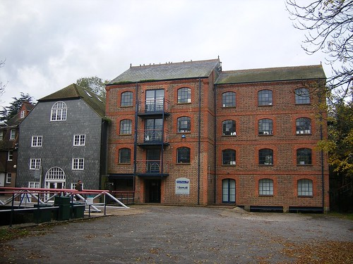 Uckfield water mill back view