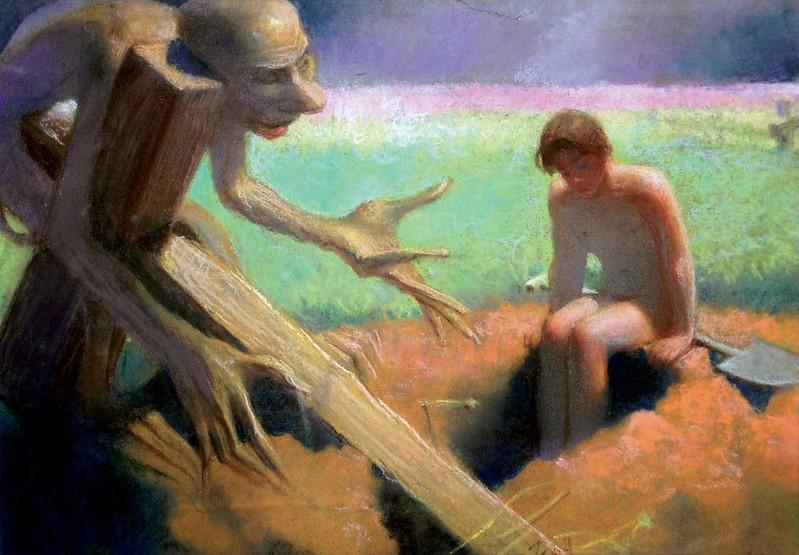 Stefan Zechowski - Anhelli And Death, 1947