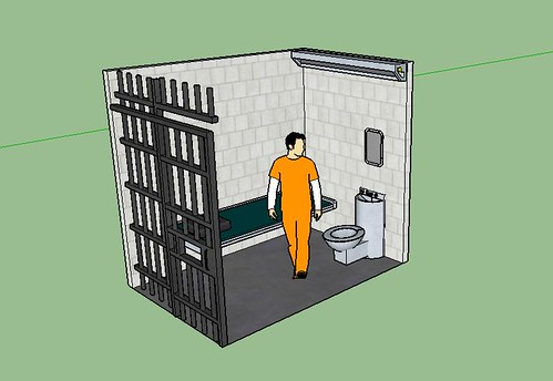 Single cell metallockup | Size 6 x 9 x 10 feet Cell for ...