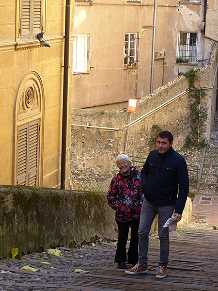 lala et clem à Gênes