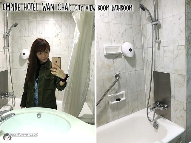 Empire Hotel Wan Chai City View Bathroom