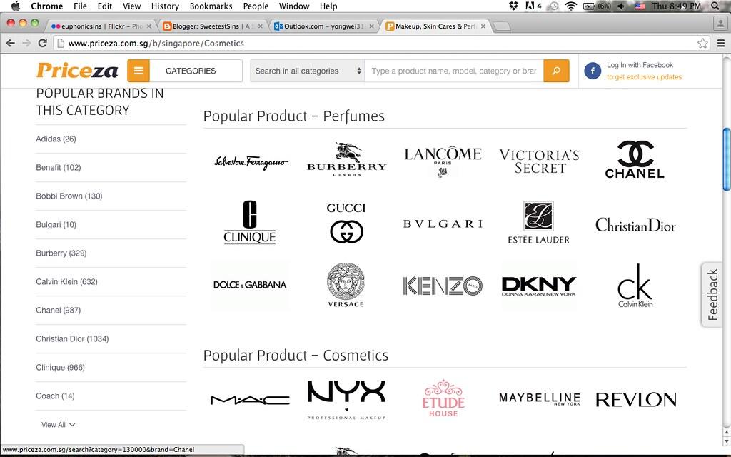 priceza cosmetics