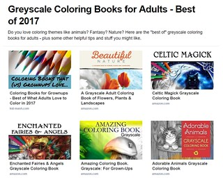 Greyscale coloring books page