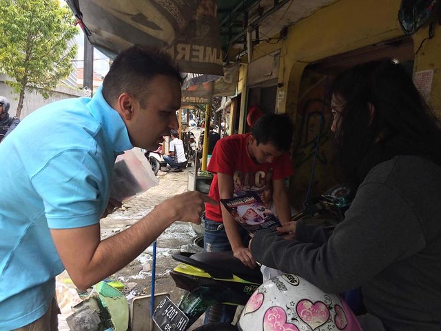 2017-February-02-LEAFLETING-Mission Propagation in Jakarta, Indonesia