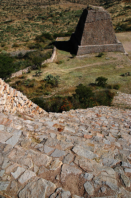 La Quemada, Meso-American ruins near Guadalajara, Mexico