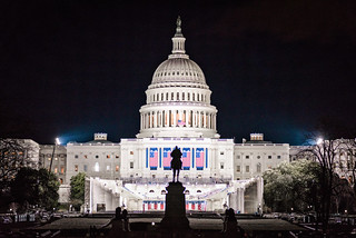 The U.S. Capitol Building Readied for the Trump Inauguration | by Geoff Livingston