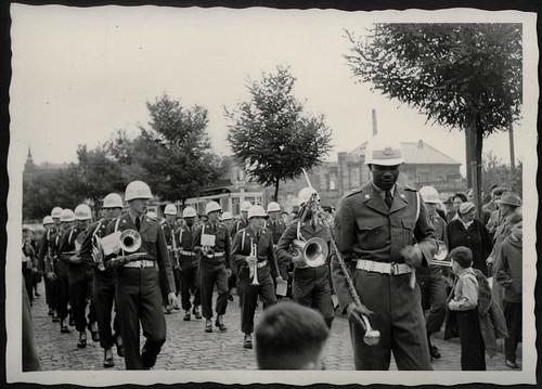 """Archiv K653""""Kirchweihzug, 1955"""" Der""""Tambourmajor"""" mit de u2026 Flickr"""