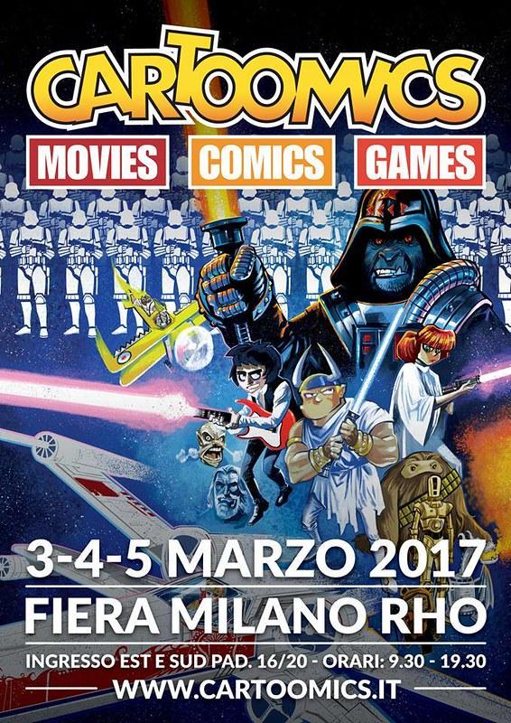 Cartoomics 2017 -Poster