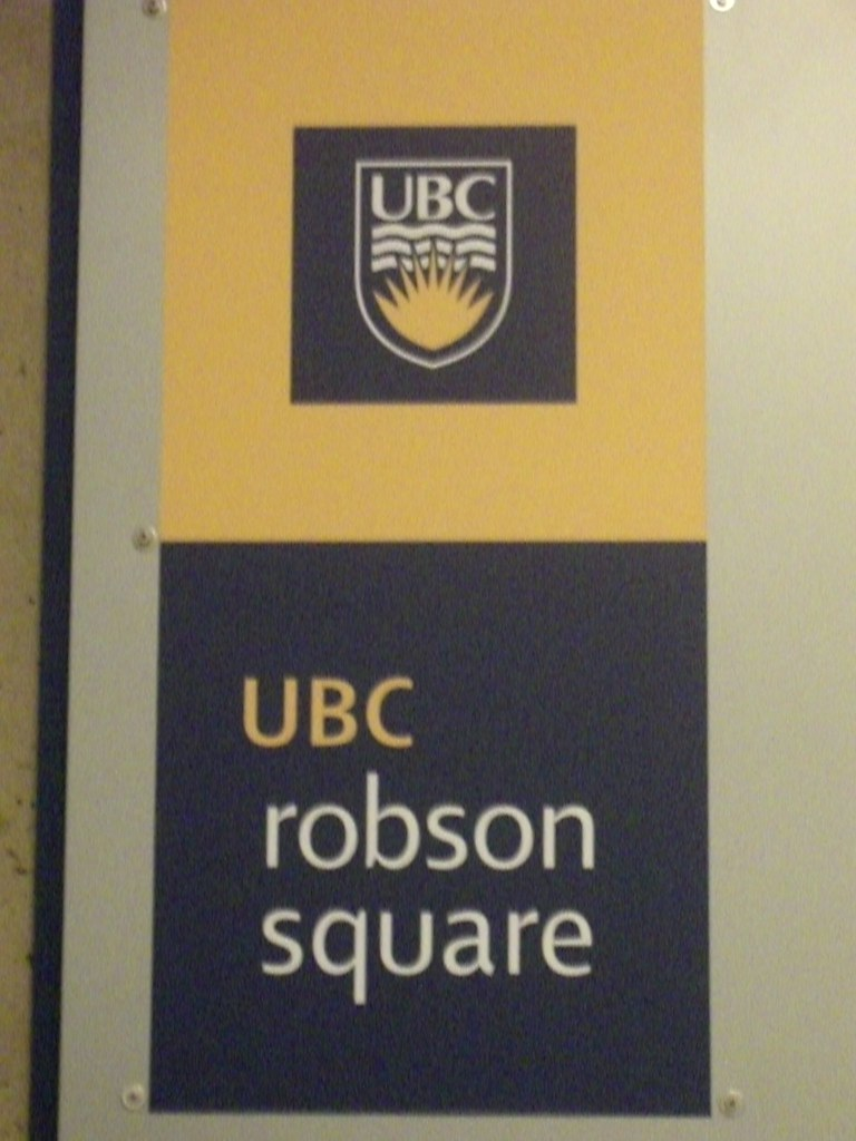 Ubc Robson Square Room Booking