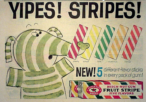 Fruit Stripe gum ad | by grickily