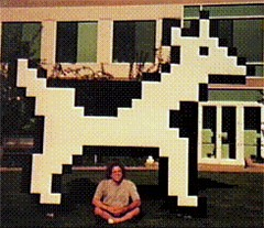 under the dogcow at apple hq | by tedfriedman