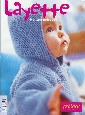 Phildar Layette Fall 2004 Garter Stitch Jacket | by ElinorB