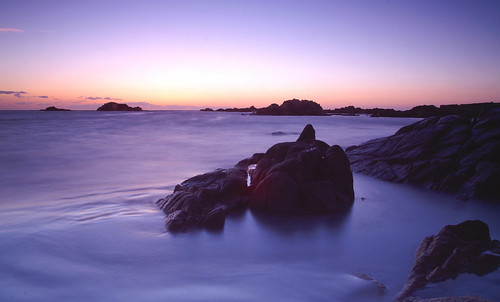 Sunset over Grandes Rocques, Guernsey | by sov