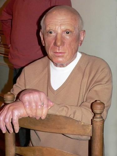 Artist Pablo Picasso a...