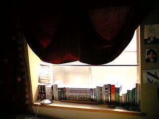 My Windowsill Bookshelf