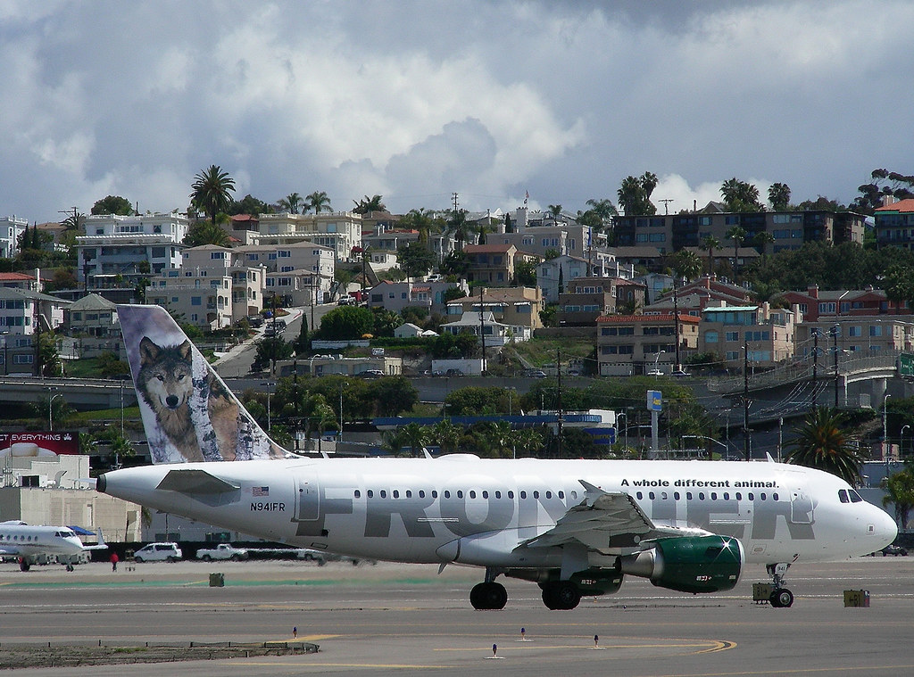 Frontier A319 N941FR | Frontier Airlines, based in Denver ...