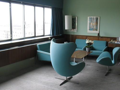 room 606 sas royal hotel copenhagen arne jacobsen 39 s design flickr. Black Bedroom Furniture Sets. Home Design Ideas