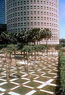 nations bank park plaza tampa designed by dan kiley flickr. Black Bedroom Furniture Sets. Home Design Ideas
