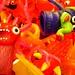 Monster Finger Puppets in Bulk Bin