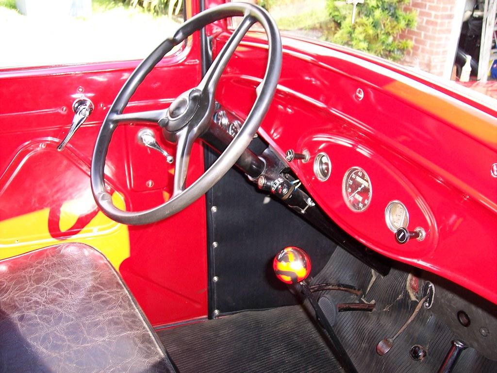 1934 Ford Pickup Interior