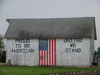 patriotic barn | by Castanet