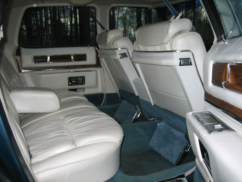 1975 Cadillac Fleetwood Brougham Interior Rear From