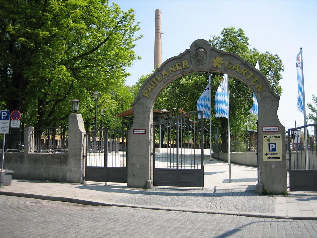 Paulaner Biergarten Hanau