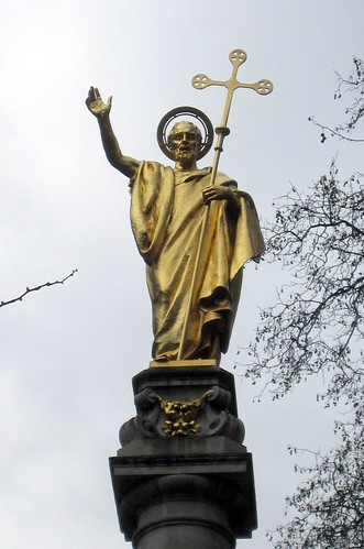St Paul Statue in Front of St Paul's Cathedral | by Bobcatnorth