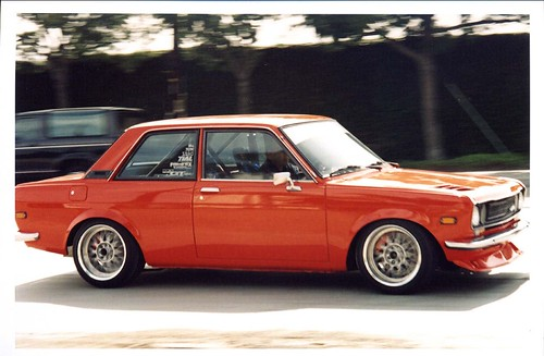 Datsun 510 Rotary Turbo More Datsun Action On The Street