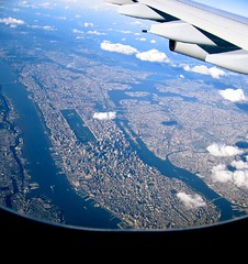 Manhattan while approaching JFK Airport | by Dirk Paessler