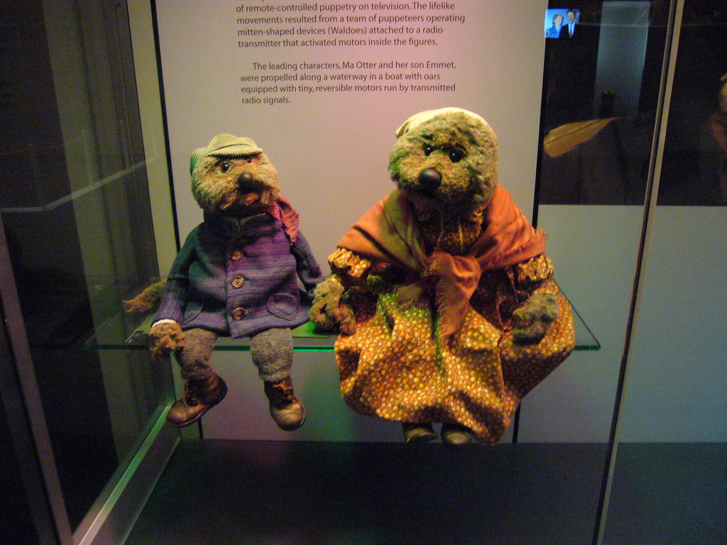 Emmet Otter\'s Jug Band Christmas | Emmet and Ma Otter at NMA… | Flickr