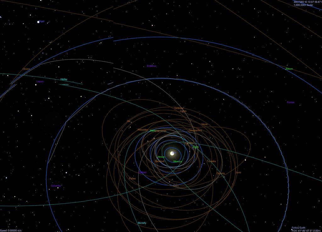 solar system orbits 3d - photo #26
