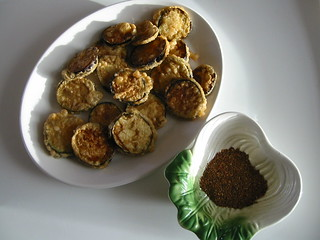 eggplant fritters with huajiao-dip | by kattebelletje