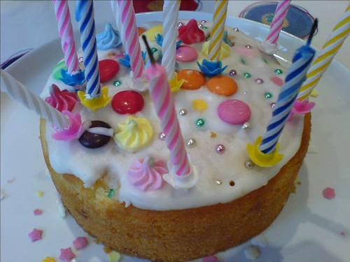 Daisy Birthday Cake Design