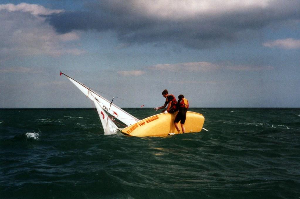 Sailing capsize