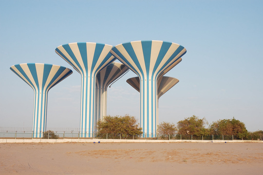 Kuwait Water Towers | A little while back, I had posted ... All Sizes Water Towers Kuwait Photos