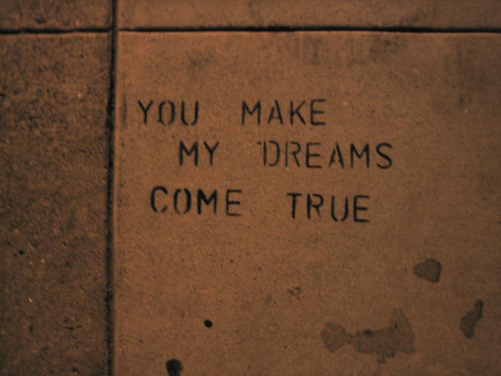 a personal recount about a dream come true