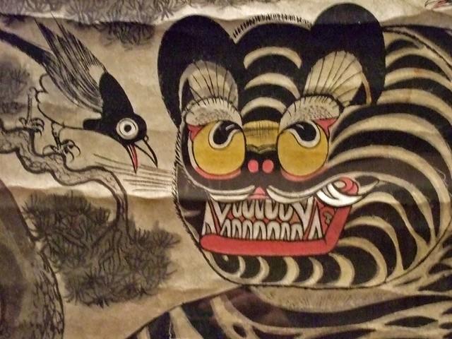 tiger and magpie joseon period korea 19th century ce 2