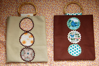 circle totes | by SouleMama