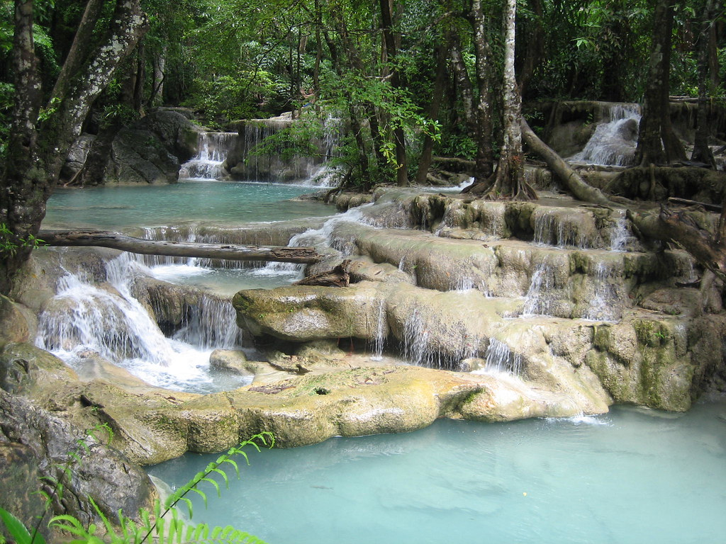 Erawan Waterfalls -- 7 Steps to Heaven  Of all the ...