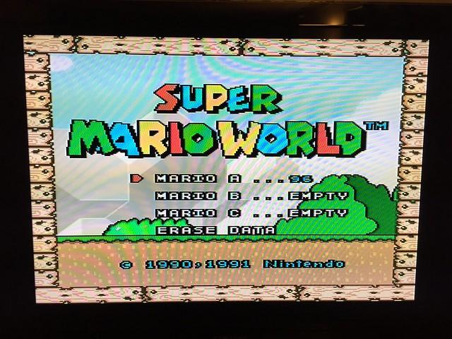 Super Mario World - 100%