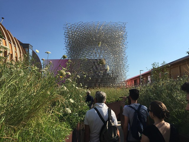 "UK pavilion, the ""hive"""