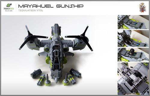 Mayahuel Gunship - DA2 - Loadout & retractable landing gear