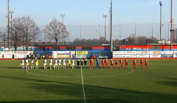 Virtus Verona-Tamai 1-0: Tre punti che valgono il quarto posto!