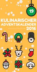 Kulinarischer Adventskalender 2016 - Tuerchen 19
