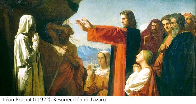 Resurrección de Lázaro - Léon Bonnat (+1922)