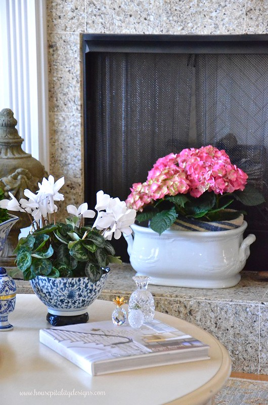 Blue and White-Hydrangeas-Ironstone-Housepitality Designs