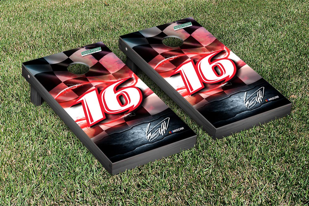 GREG BIFFLE #16 CORNHOLE GAME SET NIGHT LIGHTS VERSION (1)