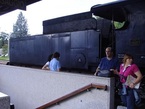Treno a vapore nelle Dolomiti